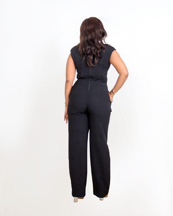 HaloGlow Black Jumpsuit