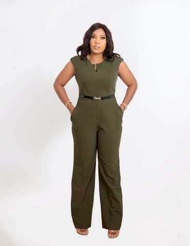 HaloGlow Green Jumpsuit